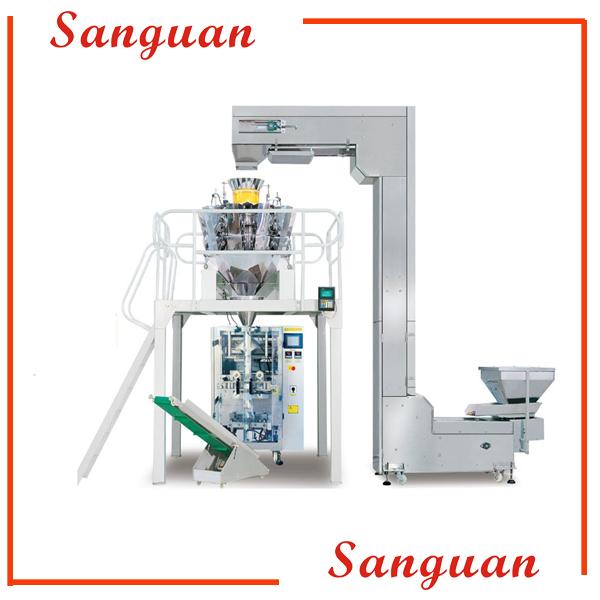 Автоматический вертикальный упаковочный станок для гранулированной упаковки