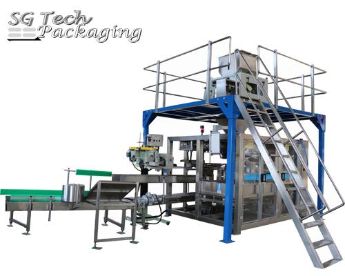 SGJ-ZDS Автоматический упаковочный станок для упаковки тяжелых пакетов